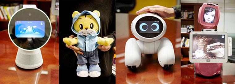 SK텔레콤의 차세대 AI 로봇들