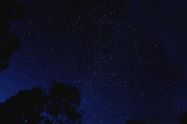 별 밤하늘