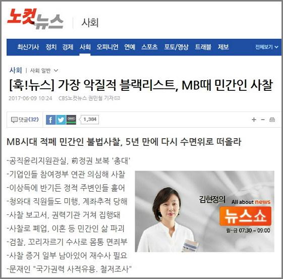 큐레이션 김현정의 뉴스쇼