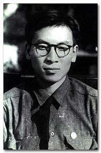 장준하 1944년 1월 모습