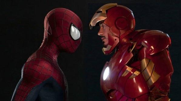 스파이더맨과 아이언맨, 최근 제작되는 마블 영화 속 MCU에서는 유사 '부자' 관계를 형성한다.