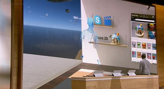 윈도우 홀로그래픽은 모니터를 통한 제한된 세계가 아닌, 진짜 창이 있는 가상세계의 인터페이스다.