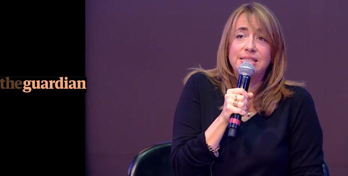캐서린 바이너 '가디언' 편집국장 (출처: 르몽드 페스티벌) http://www.lemonde.fr/festival/video/2017/09/23/quand-une-information-est-incroyable-elle-est-souvent-fausse_5190240_4415198.html