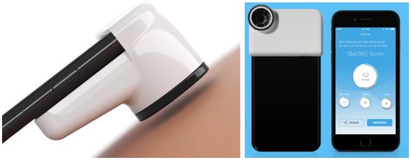 스마트폰 액세서리와 앱을 이용한 피부관리 (출처: Neutrogena)