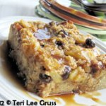 Photo of gluten free bread pudding by Teri Lee Gruss