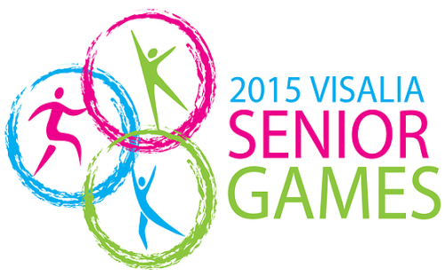 2015 Visalia Senior Games logo