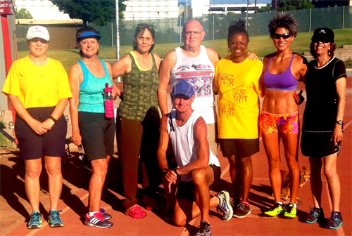 Vegas Sizzling Seniors Track & Field Club Welcomes New Members, Visitors