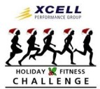 logo for XCELL Performance Group Holiday Fitness Challenge