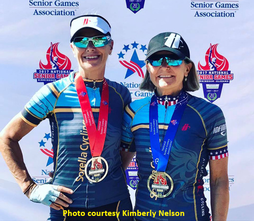 Results: 2017 National Senior Games Women's 40K Cycling Road Race