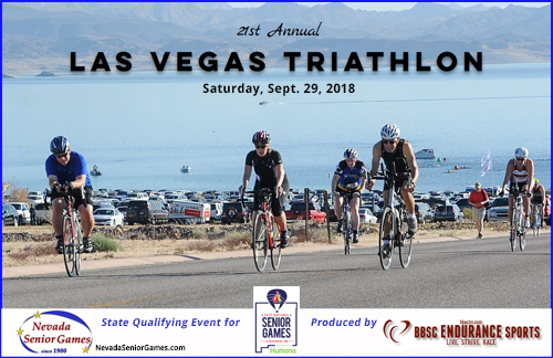 Last Day for Early Bird Registration is July 31; Nevada Senior Games Triathlon
