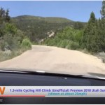 utah summer games 1.4-mile hill climb course by car