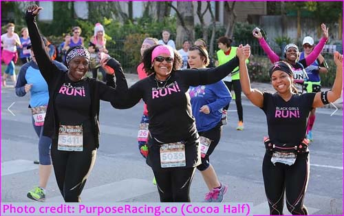 Race photo from Cocoa Half