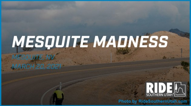 photo of cyclist riding Mesquite Madness
