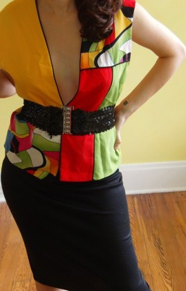 bold bright eighties vest
