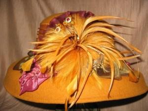 Golden Winter Hat