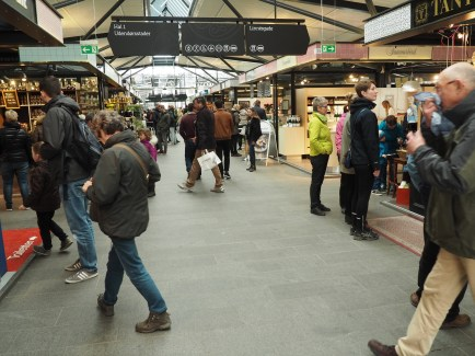Torvehallerne interior market in Copenhagen