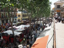 Madrid's Rastro Market takes over the street