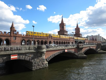 Oberbaumbrücke bridge, Berlin, Germany