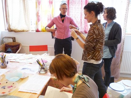 Extended Life Textile Techniques Workshops at the Slow Textiles Group