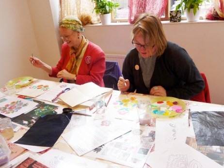 Melanie Bowles attends Carpenter's Happiness Workshop, a Slow Textiles Group event (designed, devised and delivered by Emma Neuberg)
