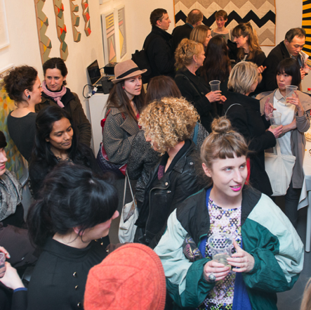 Kitty Joseph at The Geometrics, Slow Textiles Group event (designed, devised and delivered by Emma Neuberg)