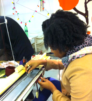 Couture Knit Workshop at Textiles Hub London