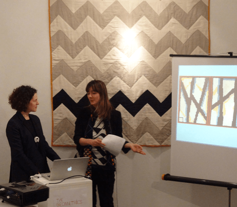 Alexandra Gerstein and Emma Neuberg, Slow Textiles Group event (designed, devised and delivered by Emma Neuberg)