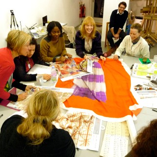 Fast and Slow Textiles event with the Victoria and Albert Museum
