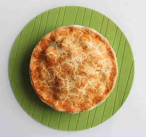 Deep Filled Venison Pie