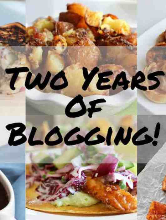 Celebrating two years of food blogging at Slow The Cook Down by sharing my readers' favourite recipes and my personnel favourites too!