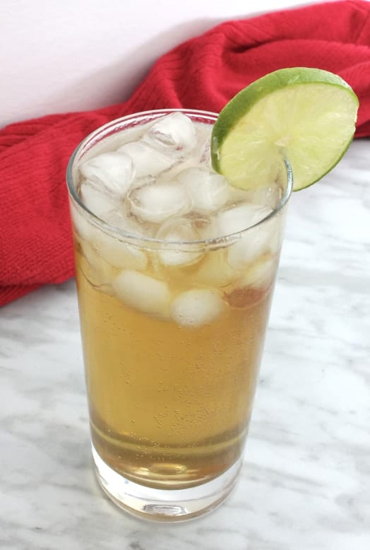 Spiced Rum Cocktail with Apple Vodka