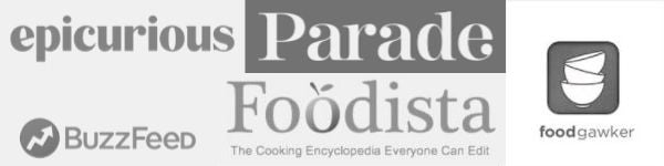 Banner showing publications Slow The Cook Down has been featured in