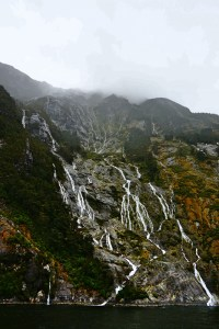 Milford Sound: how to get your camera lens soaked