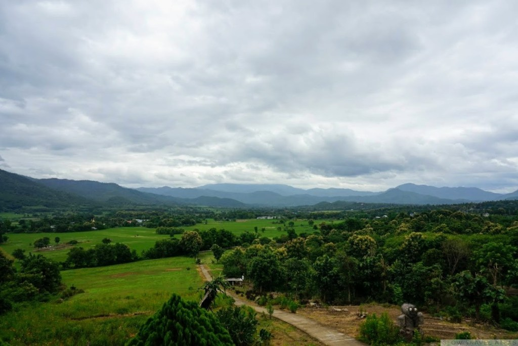 View from the I Love Pai cafe
