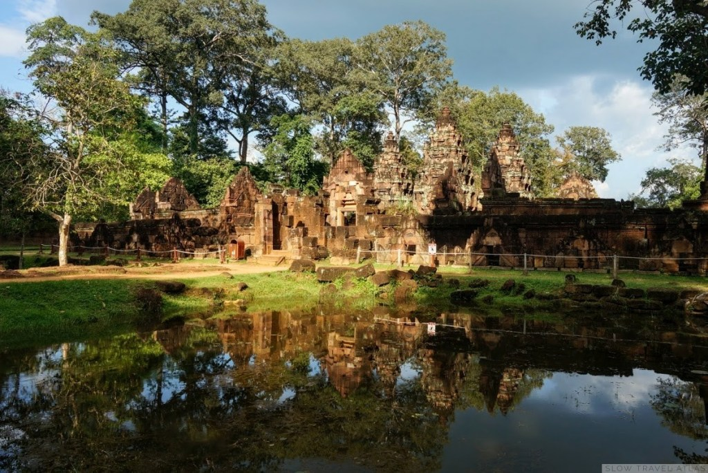 Banteay Srei at sundown