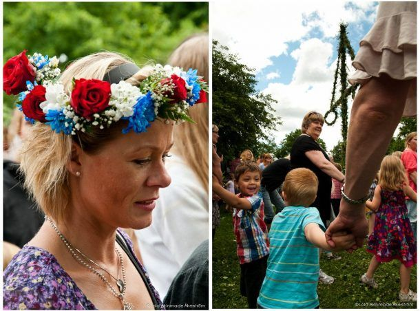Swedish girls - Swedish Midsummer in Stockholm - Photography by Lola Akinmade Åkerström