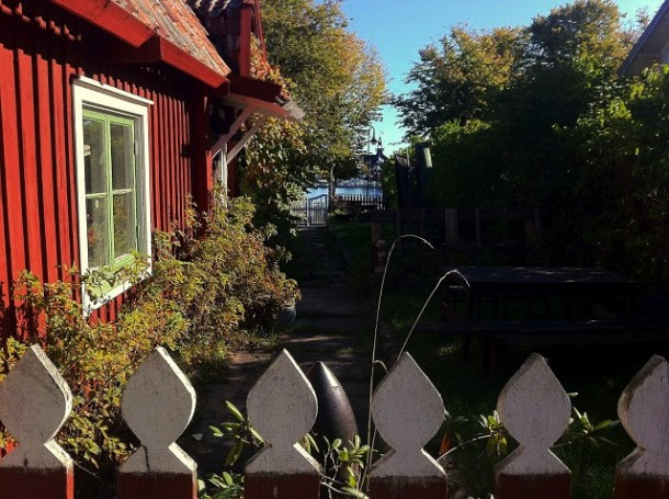 Village on Sandhamn.