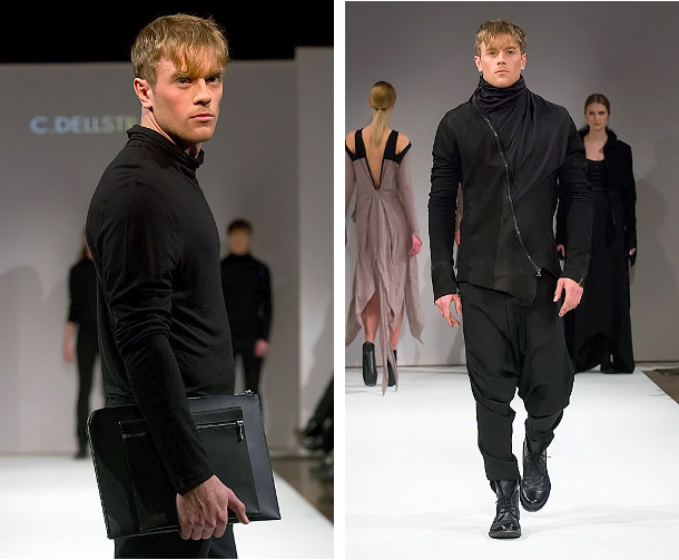 Stockholm Fashion Week - Left: c.dellstrand | Right: Aniv von Borche © Peter Hakansson