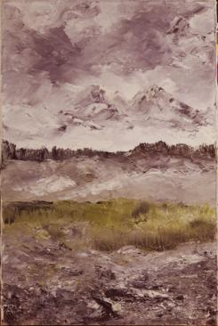 "August Strindberg, ""Landscape Study, 1905″"