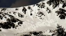 Spontánne splazy a malé lavíny v oblati Troch kôp a Smutného sedla, Žiarska dolina, 27. marec 2014