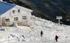 Na hrebeni Nízkych Tatier sa v dôsledku silného vetra vytvorila už pomerne veľká námraza, Chopok, Nízke Tatry, 27. november 2013