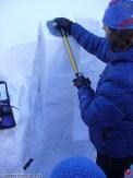 Testy stability snehovej pokrývky, 16.12.2015