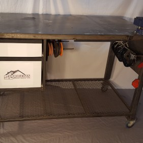 Custom Fabrication Table-older project