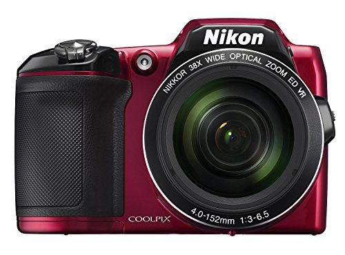 51jnrCGJBlL - Nikon COOLPIX L840 Digital Camera with 38x Optical Zoom and Built-In Wi-Fi (Red) (Certified Refurbished)