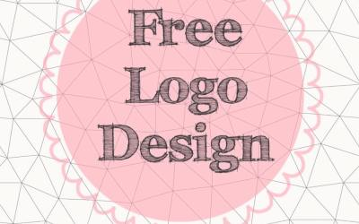 Shhhh. Free Logo Design. (Yep. I know, right?!)