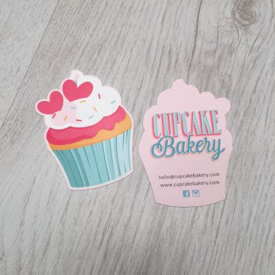 Business stationery sls creative custom shaped cards colourmoves