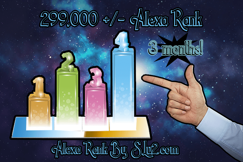 Increase your Alexa rank to 299,000 three month subscription