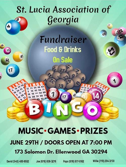 SLUAG Bingo Fundraiser