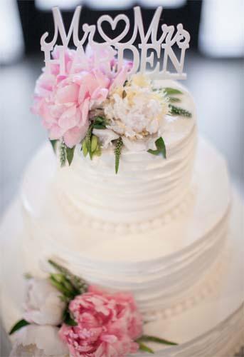 personalizowany tort na wesele
