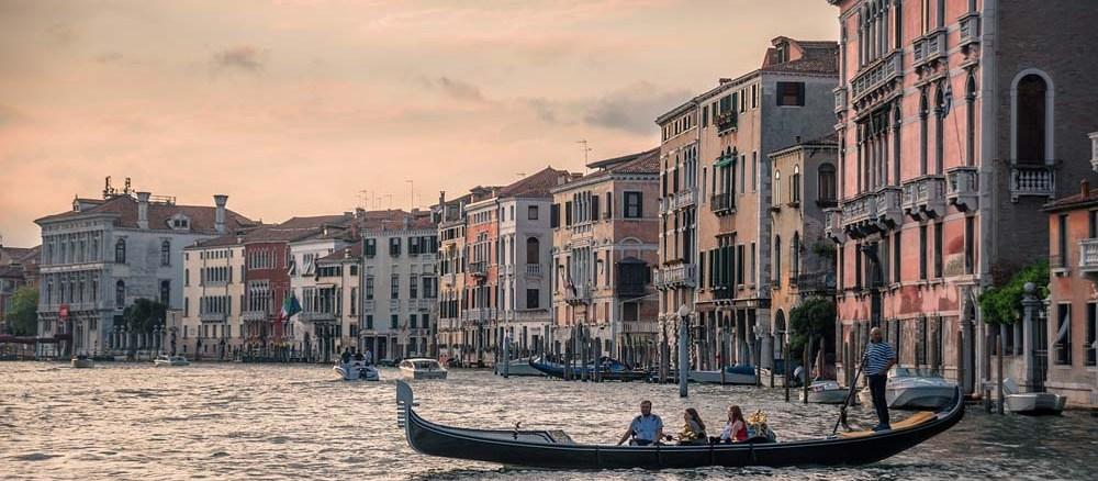 Wenecja – miejsce na podróż poślubną